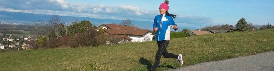 Winter sunny running in Ballaison